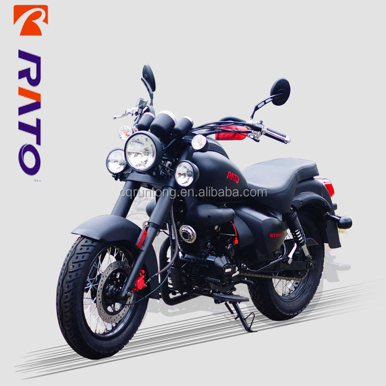 200cc single cylinder 4-stroke prince chooper cruiser motorcycle