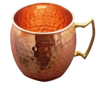 Moscow Mule Copper Mug Hammered Copper food grade wholesale