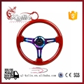 Ryanstar 350mm 14inch universal Aluminum ABS wood grain style auto steering wheel car steering wheel