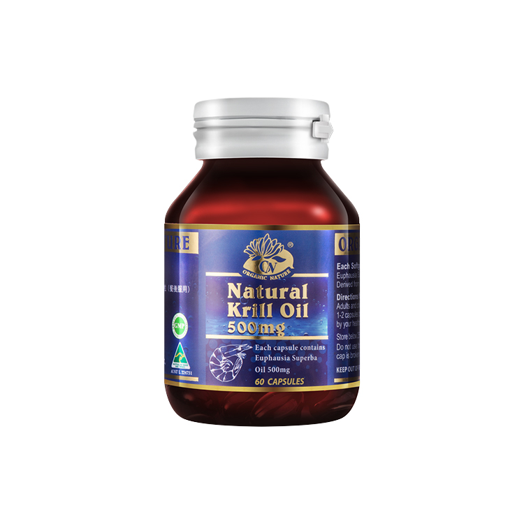 Manufacturer diect supply natural krill oil capsule