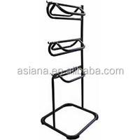 Three Tier Saddle Rack with Vented Blanket Rack SR001