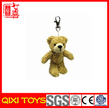 Mini diamond teddy bear plush keychain ,mini teddy bear hangings