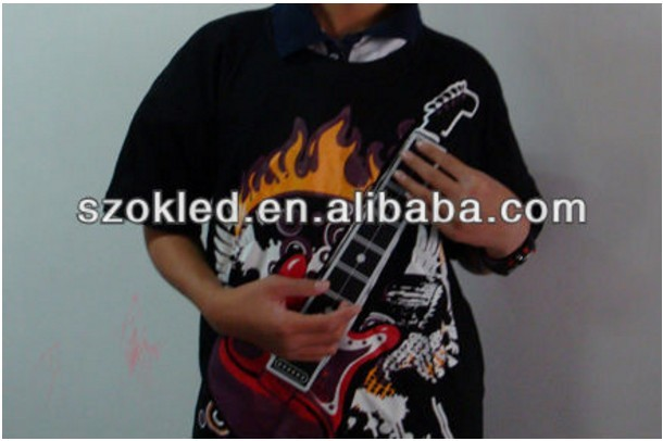 New Price! Electronic rock guitar t shirt
