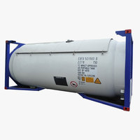 LN2 gas tank container