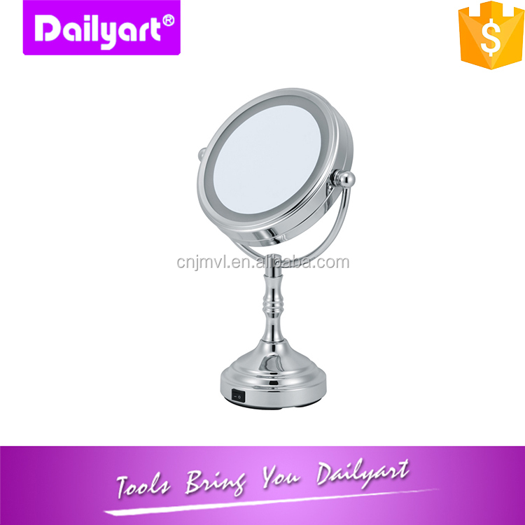 Double Side Magnification LED Mirror