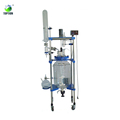 TOPTION Laboratory Double Layer Jacketed Glass Reactor