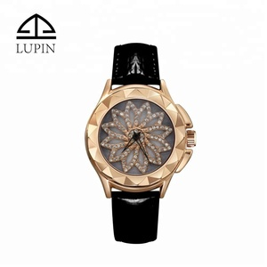 New Arrival Fashion Rotating Women Watches Luxury Diamond Watches