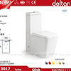 Foshan Deltar 3017 Sanitary Ware Product Two Piece white color toilet equipment