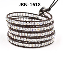 Fashion bead wrap bracelet wholesale JBN-1618