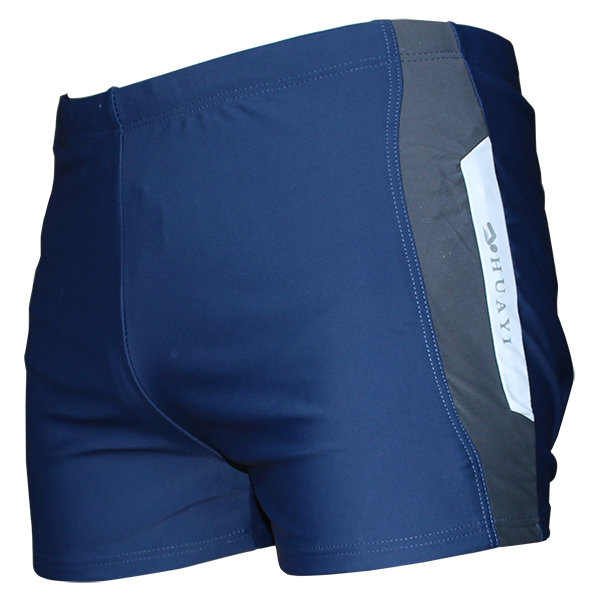High quality swimwear breathable swimming shorts for men
