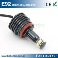 New Arrival Super Bright 4000Lumen 12v 24v 40w ce rohs CANBUS Car LED Marker Light Angel Eye for BMW E60 E92 H8