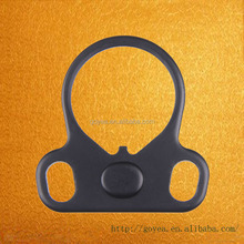 Model 4/15 223 5.56 AR Dual loop Sling mount Adapter End Plate Right/Left Handed Mount for Rifle Stock Buffer Tube