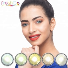 2018 hot sale hollywood luxury color contact lens freshgo natural colored contacts lentilles pour les yeux