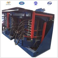 scrap copper coreless electric induction smelter