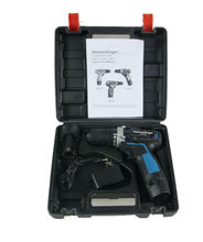 Chargeable Electric Impact Cordless Drill Set with 2pcs 12v Backup Battery