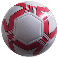 official sized TPU/PVC machine stitched soccer ball customized available