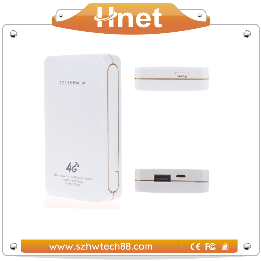 Pocket cell phone wireless hotspot router for business