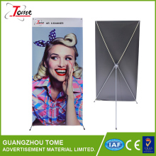 2015 Advertisting Exhibition Tradeshow metal korean x banner stand Butterfly X Stand X Stand Type Banner