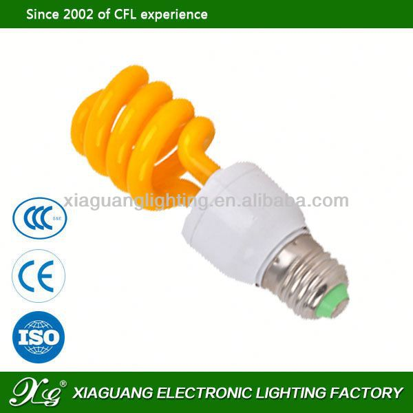 E27 High Power Factory Wholesales Price g9 cfl half 65w 6500k 4u energy saving lamp