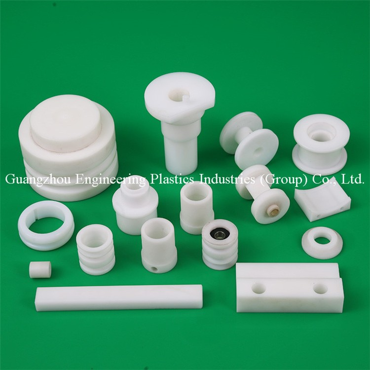 Guangzhou professional custom design hard POM-C Acetron plastic cnc machining parts