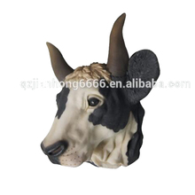 Wholesale Hanging Ornaments Decorative Animal Resin Wall Bull Head