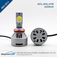 3000K 6000K 8000K 3200lm automotive LED replacement lamp,H4 H7 H8 H11 H13 H16 9004 9005 9006 9007 led bulb
