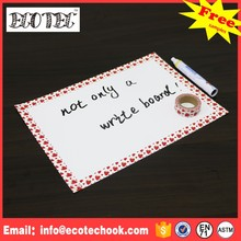 Shop promotion printed magnetic dry erase board wholesale price