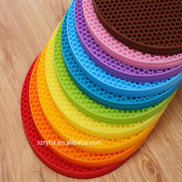 Silicone Dining Table Mat/Placemat/Kitchen shelf liner table mat