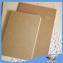Wholesale cheap factory A4/A5/A6 size kraft paper notebook