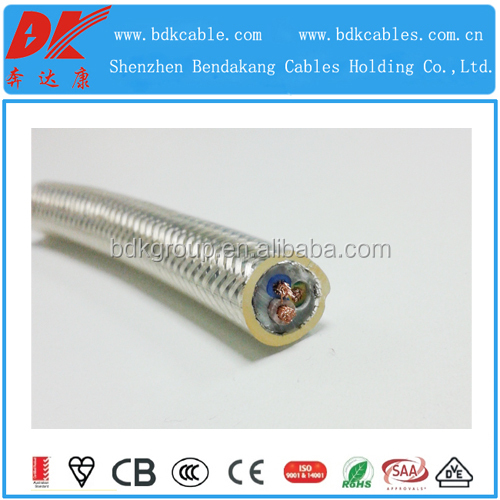 China manufacture and supply cheap popular tinned copper screen electric cable 300/500V for industry