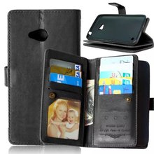 For Nokia Lumia 640 Case, Case for Nokia Lumia 640 ,9 Credit Cards Slot PU Leather Flip Wallet Cover for Nokia Lumia 640 Case