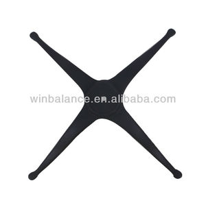 Black Cross Wrought Iron Coffee Table Base