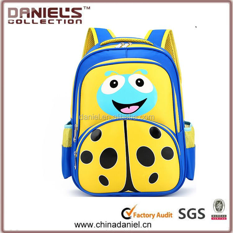 China gold manufacturer Trade Assurance high quality big school bags