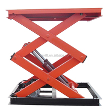hydraulic scissor lift elevator used car hoist lift