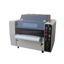 Newest mini glossy roller uv varnish coater, uv coating machine