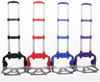 Two Wheel Aluminum Luaggage Handle Supermarket Shopping Trolley PLA75-HSGM