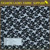 new arrival and fashionable 100 % polyester lace solid fabric for ladies' wear bangkok lace fabric