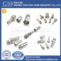 Stainless steel321 bulkhead hydraulic hose fitting