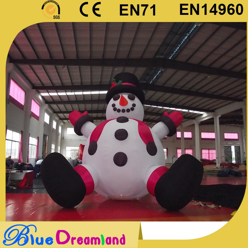 Low price inflatable outdoor christmas decorations wholesaler
