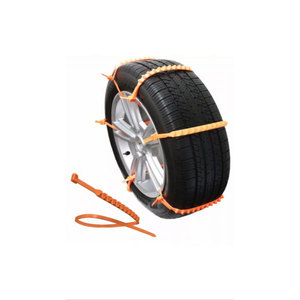 Easy Operate Practical Plastic Car Anti-skid Snow Tire Chain
