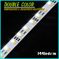 Double Row 144leds Color Temperature and Brightess Adjustable SMD3528 LED Solid Rigid Bar Light
