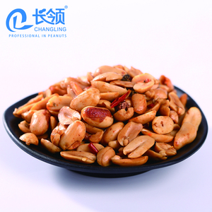 spicy peanuts/spicy flavor