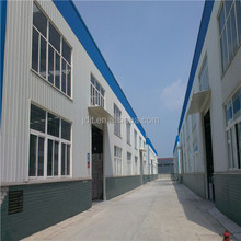 large span steel structure warehouse space fram