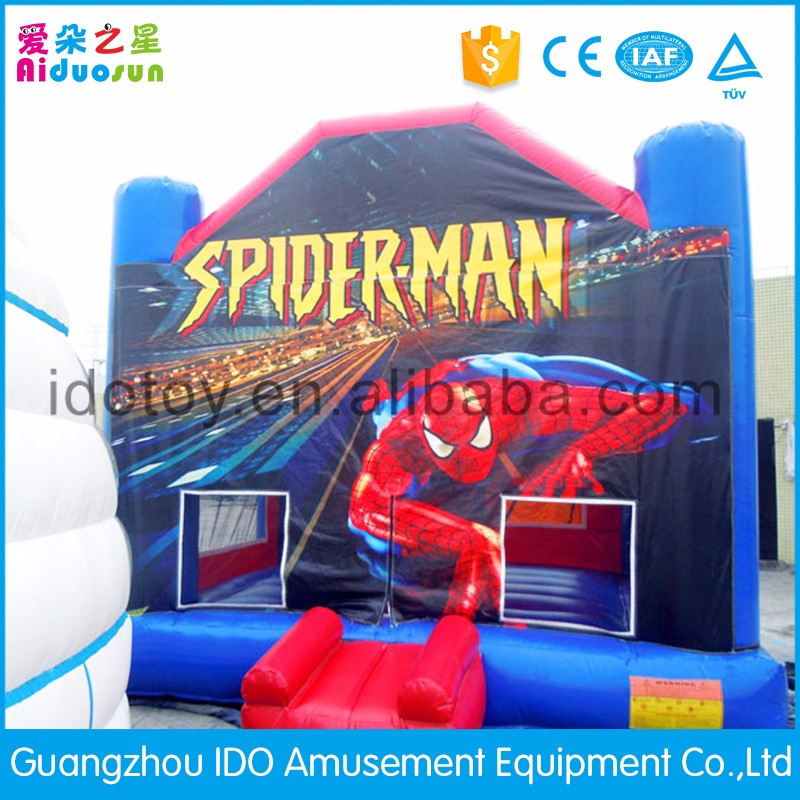 Newly mould customized inflatable batman jumper for sale
