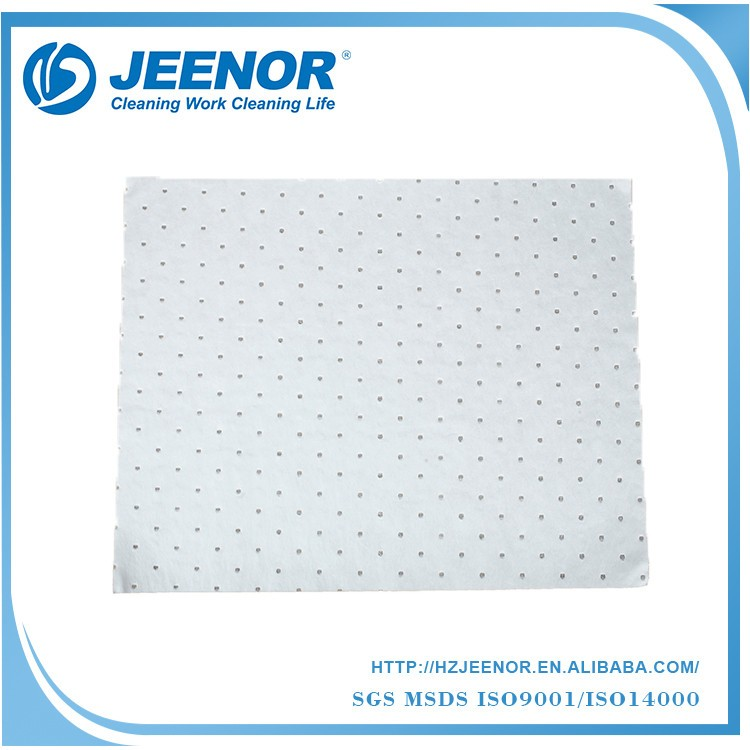 SPO SMS material oil absorbent cloth