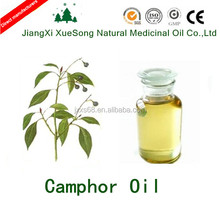 Factory directly sale natural camphor essential oil brown camphor oil