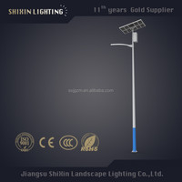 china manufacturing solar street lamp post 5-10m