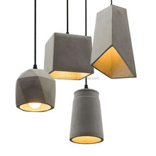 Concrete Aplomb pendant lamp Marble concrete hanging light Loft cement suspension lamp