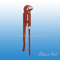 90 degree bent nose pipe wrench PSP010