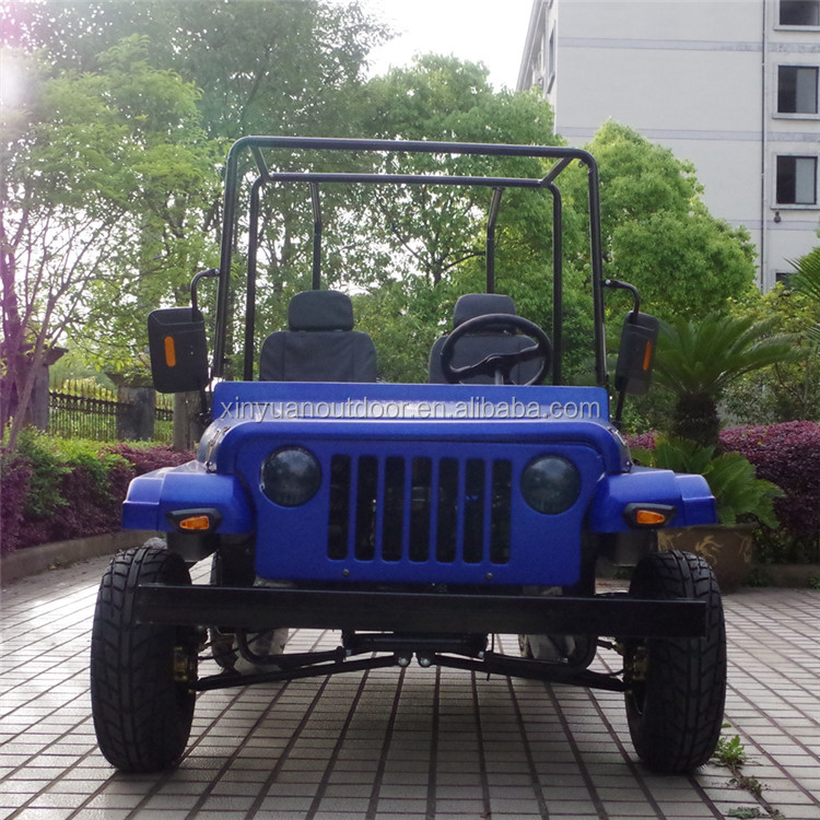 China manufacturer cheap mini jeep dune buggy road legal quad 200cc